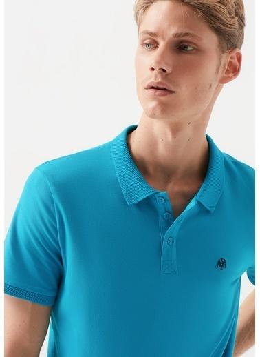 Mavi Erkek  Polo Tişört 065495-31472 Mavi